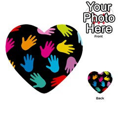 All Over Hands Multi Purpose Cards (heart)