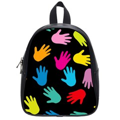 All Over Hands School Bags (small)  by ImpressiveMoments