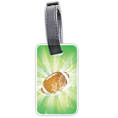 American Football  Luggage Tags (two Sides) by FantasyWorld7