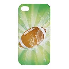 American Football  Apple Iphone 4/4s Premium Hardshell Case by FantasyWorld7