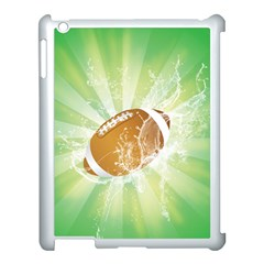 American Football  Apple Ipad 3/4 Case (white) by FantasyWorld7