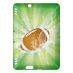 American Football  Kindle Fire Hdx Hardshell Case by FantasyWorld7