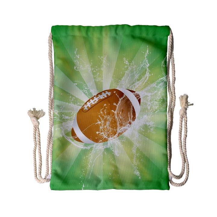 American Football  Drawstring Bag (Small)