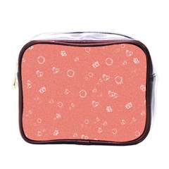 Sweetie Peach Mini Toiletries Bags by MoreColorsinLife