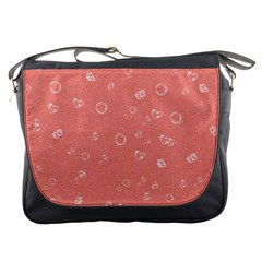 Sweetie Peach Messenger Bags by MoreColorsinLife