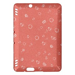 Sweetie Peach Kindle Fire HDX Hardshell Case by MoreColorsinLife