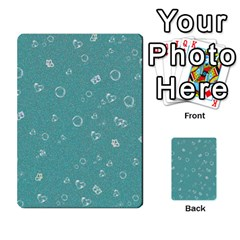 Sweetie Soft Teal Multi Purpose Cards (rectangle)
