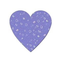 Sweetie Soft Blue Heart Magnet by MoreColorsinLife