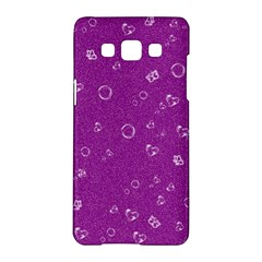 Sweetie,purple Samsung Galaxy A5 Hardshell Case  by MoreColorsinLife