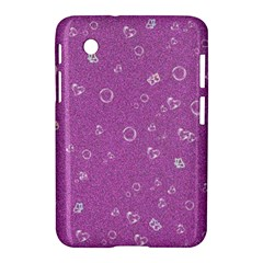 Sweetie,pink Samsung Galaxy Tab 2 (7 ) P3100 Hardshell Case  by MoreColorsinLife