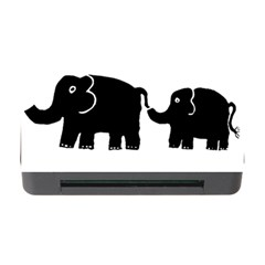 Elephant And Calf Memory Card Reader with CF