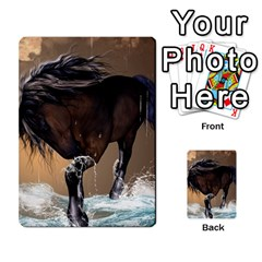 Beautiful Horse With Water Splash Multi Purpose Cards (rectangle)