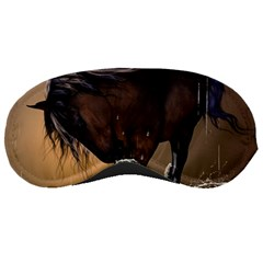 Beautiful Horse With Water Splash Sleeping Masks by FantasyWorld7