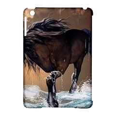 Beautiful Horse With Water Splash Apple Ipad Mini Hardshell Case (compatible With Smart Cover) by FantasyWorld7
