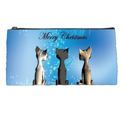 Merry Chrsitmas Pencil Cases by FantasyWorld7