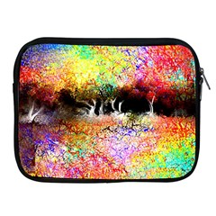 Colorful Tree Landscape Apple Ipad 2/3/4 Zipper Cases by theunrulyartist