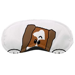 Peeping Shih Tzu Sleeping Masks by TailWags