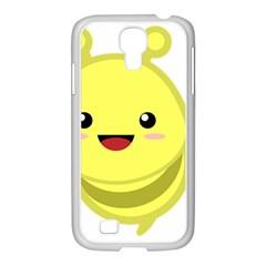 Kawaii Bee Samsung Galaxy S4 I9500/ I9505 Case (white) by KawaiiKawaii