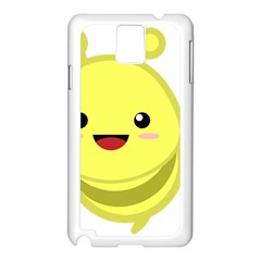 Kawaii Bee Samsung Galaxy Note 3 N9005 Case (white) by KawaiiKawaii