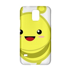 Kawaii Bee Samsung Galaxy S5 Hardshell Case  by KawaiiKawaii