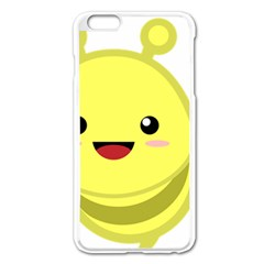 Kawaii Bee Apple iPhone 6 Plus/6S Plus Enamel White Case by KawaiiKawaii