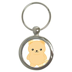 Kawaii Cat Key Chains (round)  by KawaiiKawaii