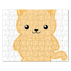 Kawaii Cat Rectangular Jigsaw Puzzl by KawaiiKawaii