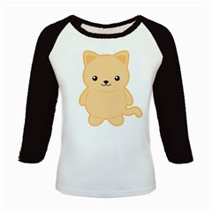 Kawaii Cat Kids Baseball Jerseys by KawaiiKawaii