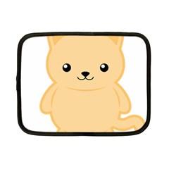 Kawaii Cat Netbook Case (small)  by KawaiiKawaii