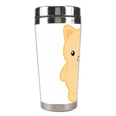 Kawaii Cat Stainless Steel Travel Tumblers by KawaiiKawaii