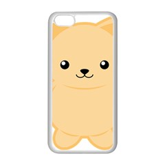 Kawaii Cat Apple Iphone 5c Seamless Case (white) by KawaiiKawaii