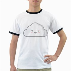 Kawaii Cloud Ringer T Shirts by KawaiiKawaii