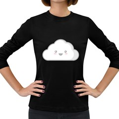 Kawaii Cloud Women s Long Sleeve Dark T Shirts by KawaiiKawaii