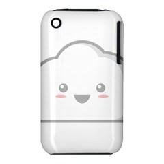 Kawaii Cloud Apple Iphone 3g/3gs Hardshell Case (pc+silicone) by KawaiiKawaii