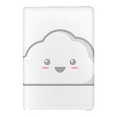 Kawaii Cloud Samsung Galaxy Tab Pro 10 1 Hardshell Case by KawaiiKawaii