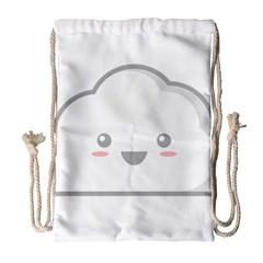 Kawaii Cloud Drawstring Bag (large) by KawaiiKawaii