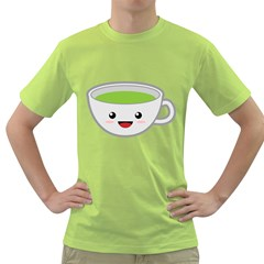 Kawaii Cup Green T-Shirt by KawaiiKawaii