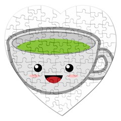 Kawaii Cup Jigsaw Puzzle (heart) by KawaiiKawaii
