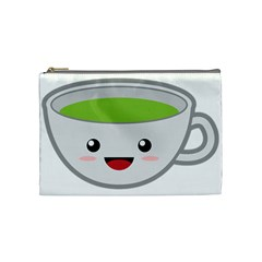Kawaii Cup Cosmetic Bag (medium)  by KawaiiKawaii
