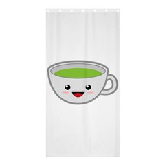 Kawaii Cup Shower Curtain 36  X 72  (stall)  by KawaiiKawaii