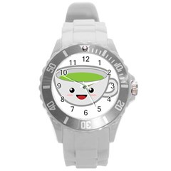 Kawaii Cup Round Plastic Sport Watch (l) by KawaiiKawaii