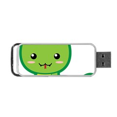 Kawaii Snake Portable Usb Flash (two Sides) by KawaiiKawaii