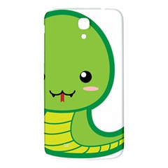 Kawaii Snake Samsung Galaxy Mega I9200 Hardshell Back Case by KawaiiKawaii
