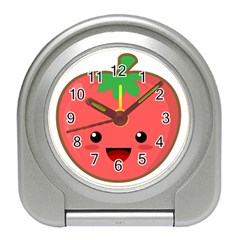 Kawaii Tomato Travel Alarm Clocks by KawaiiKawaii
