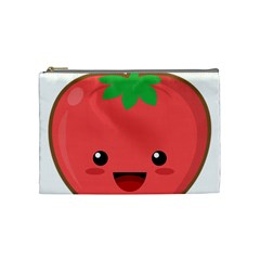 Kawaii Tomato Cosmetic Bag (medium)  by KawaiiKawaii