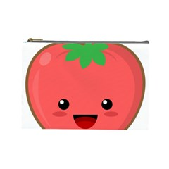 Kawaii Tomato Cosmetic Bag (large)  by KawaiiKawaii