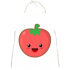 Kawaii Tomato Full Print Aprons by KawaiiKawaii