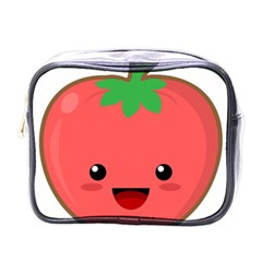 Kawaii Tomato Mini Toiletries Bags by KawaiiKawaii