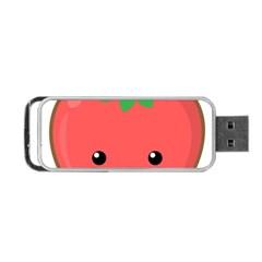 Kawaii Tomato Portable Usb Flash (one Side) by KawaiiKawaii