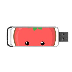 Kawaii Tomato Portable Usb Flash (two Sides) by KawaiiKawaii